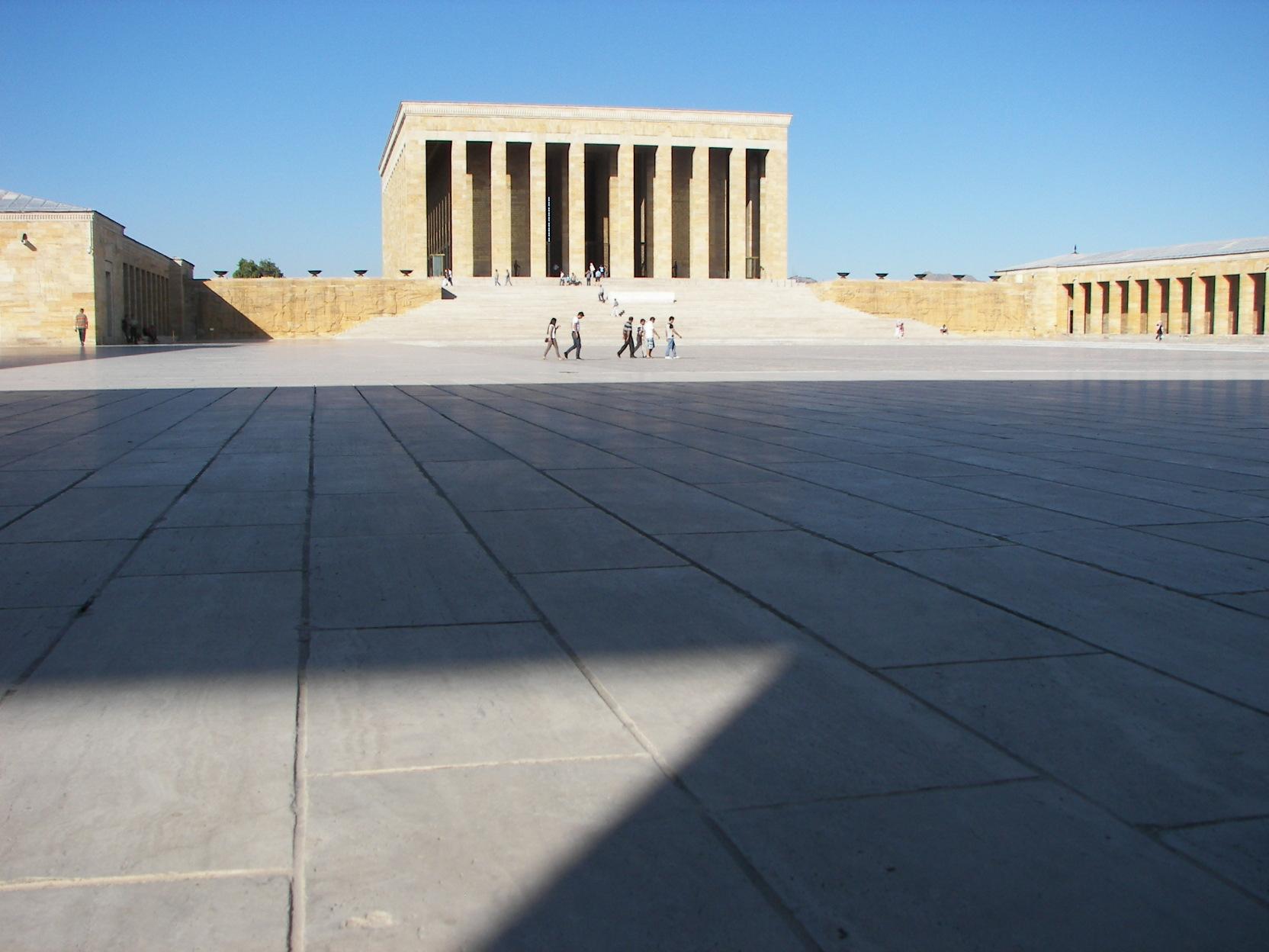 35. mausoleu Ataturk - poza lider