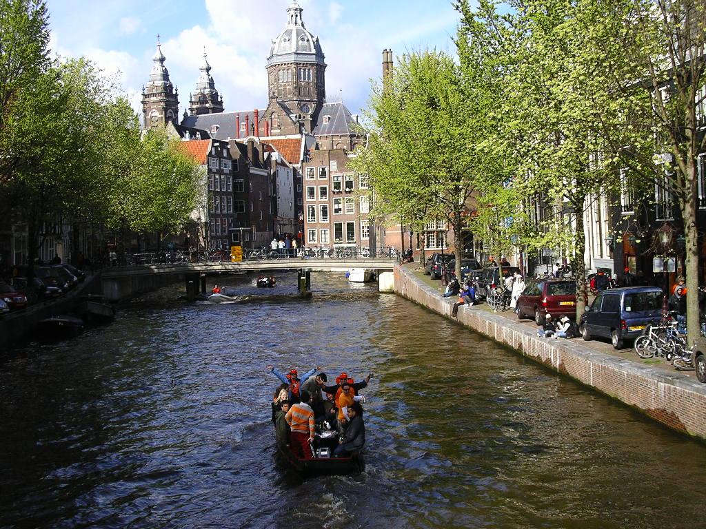 10. poza lider - canalele din Amsterdam