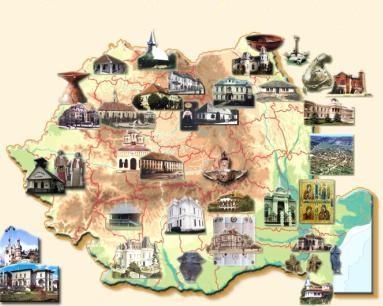 6. Harta Romaniei neturistice