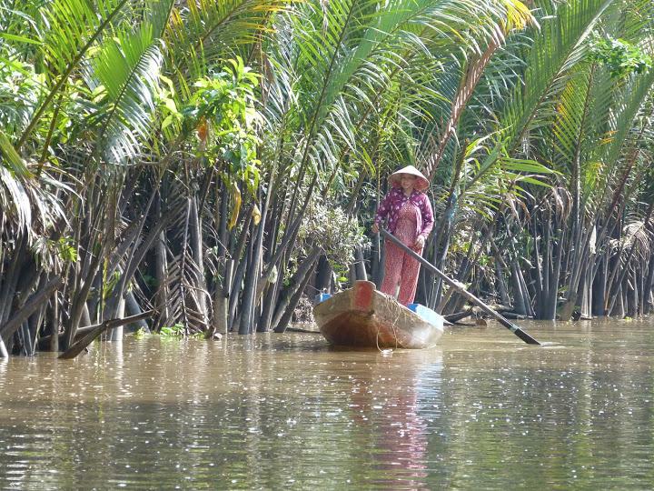 9. imagini idilice Delta Mekongului