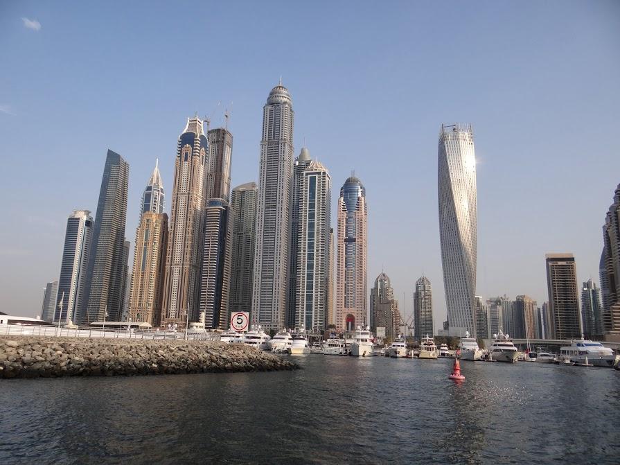 28. Blocul rasucit din Dubai Marina