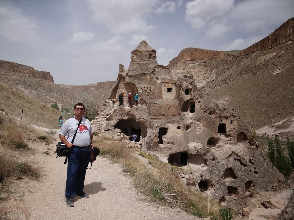 29. Biserica pe valea Soganli, Cappadocia