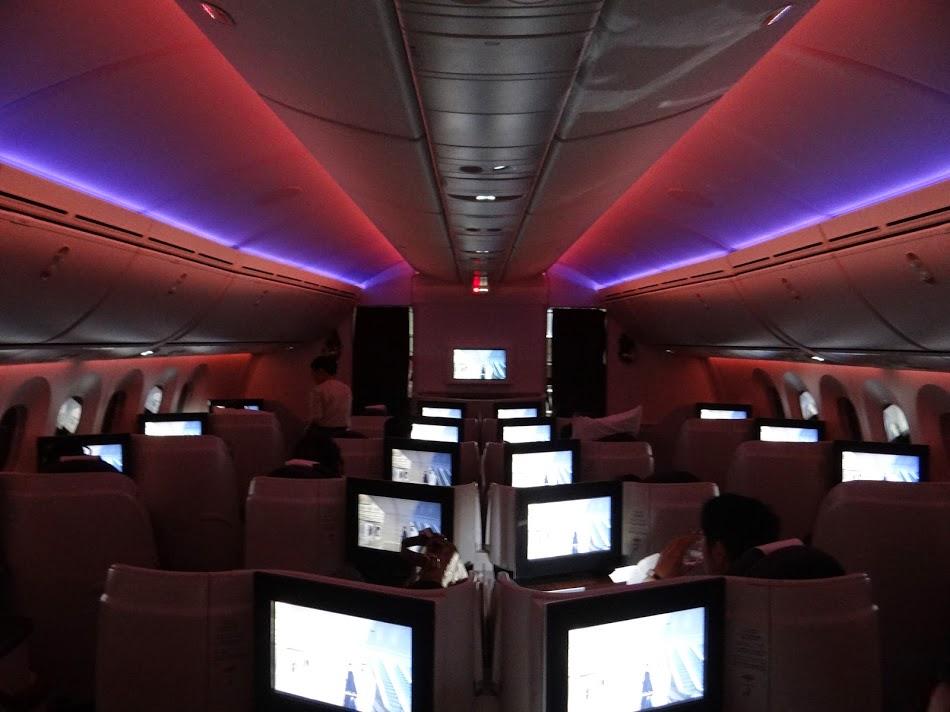 18. B787 Qatar Airways