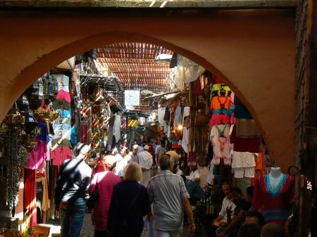 04. Bazar Marrakech, Maroc