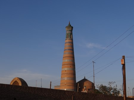 08. Apus de soare la Khiva