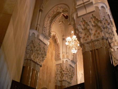 15. Interior Moscheea Hassan II