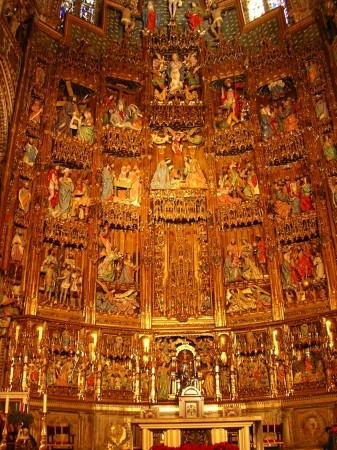 17. Altar catedrala Toledo