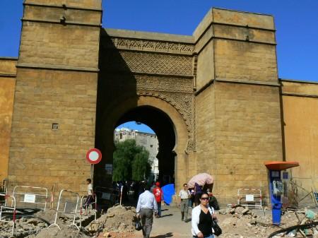 17. Intrare medina Casablanca