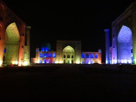 22. Sound and light show Registan Samarkand
