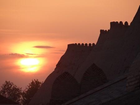 38. Apus de soare la Khiva