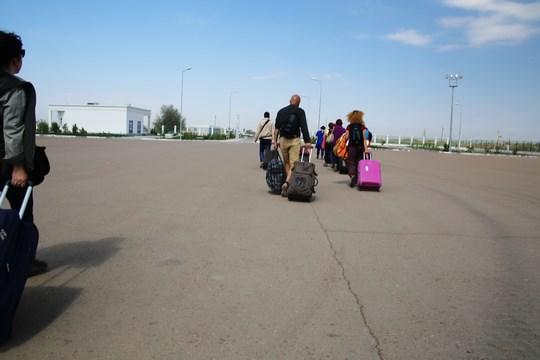08. Spre granita Turkmenistanului