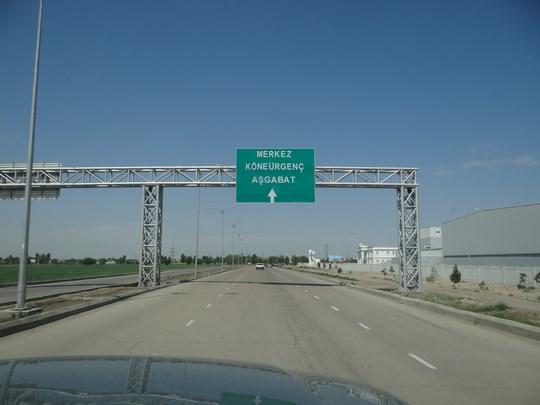 10. Autostrada Turkmenistan