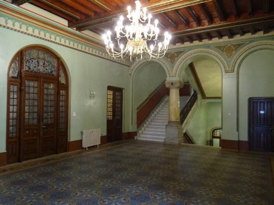 12. Sala palat Cantacuzino