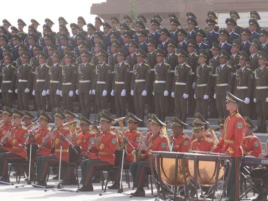 18, Cor armata Turkmenistan