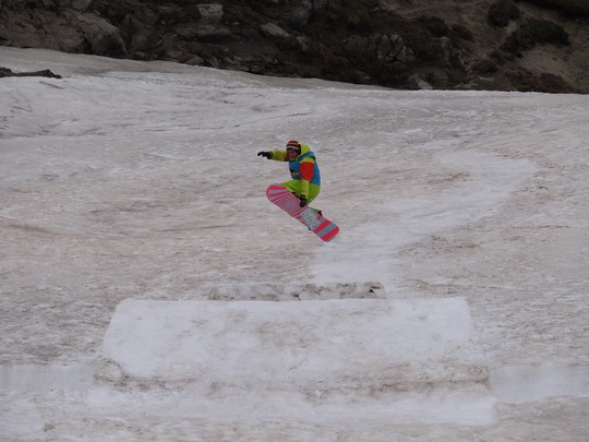 20. Snowboarding Bucegi