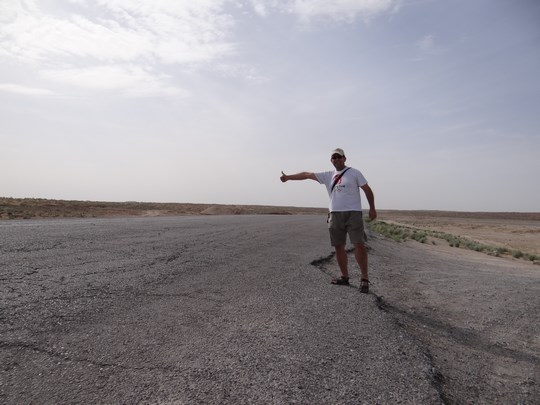 25. Autostop in Turkmenistan