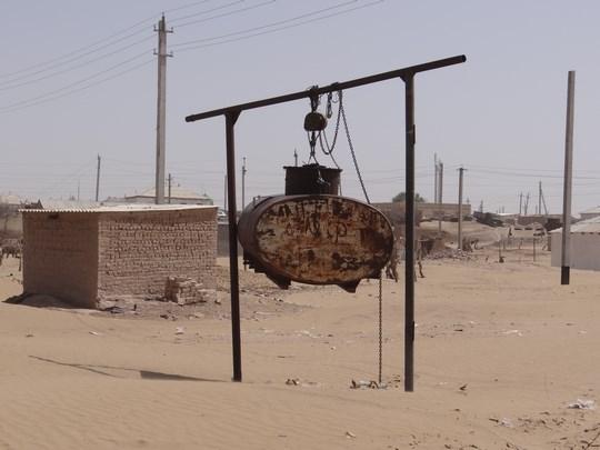30. Apa curenta in Erbent, Turkmenistan