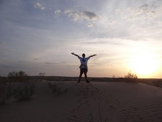 31. in desert