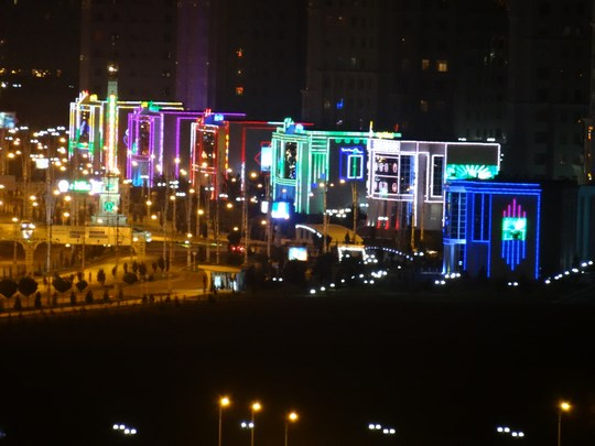 37. Ashgabat - Las Vegas