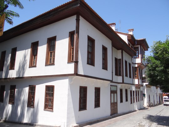 08. Cladiri traditionale turcesti