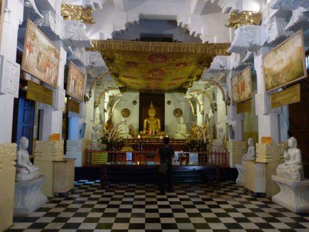 10, Templul dintelui - Kandy, Sri Lanka