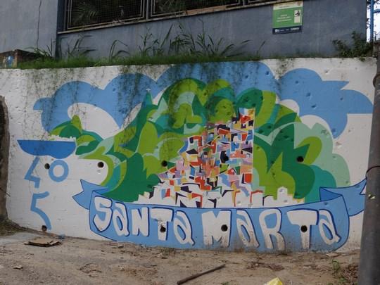 13. Urban grafitti - favela