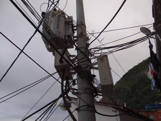 15. Stalp curent electric
