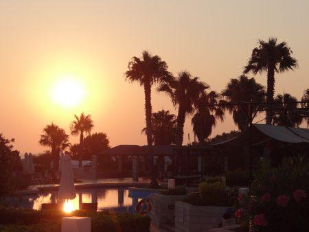17. Rasarit de soare in Creta
