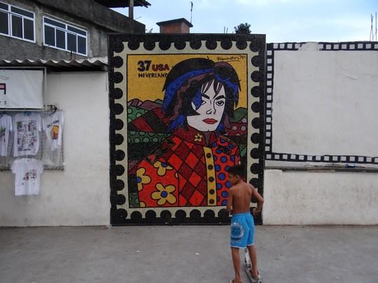 20. Pictura murala - Michael Jackson