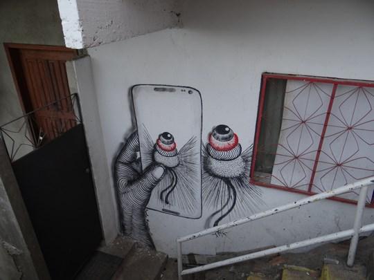 24. Favela art