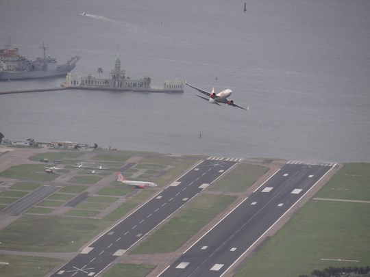 37. Santos Dumont Airport - Rio de Janeiro