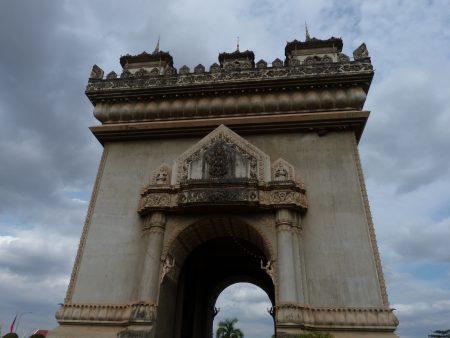 02. Arcul de triumf Vientiane Laos
