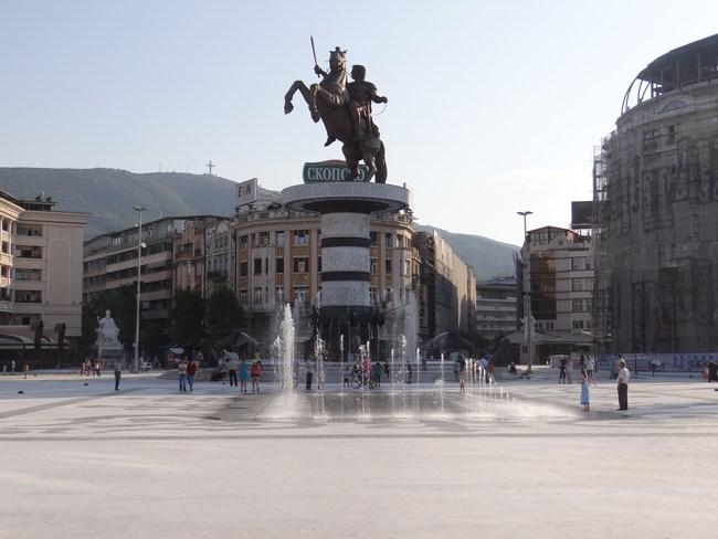 08. Alexandru Macedon - Skopje