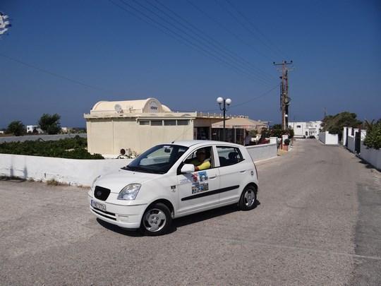 08. Rent a car Santorini