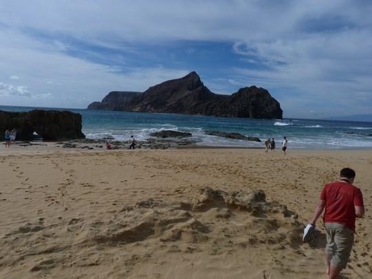 09. Plaja din Porto Santo