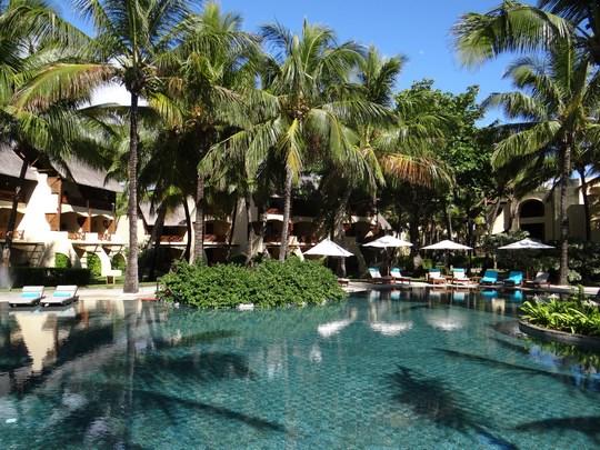 15. Piscina in Mauritius