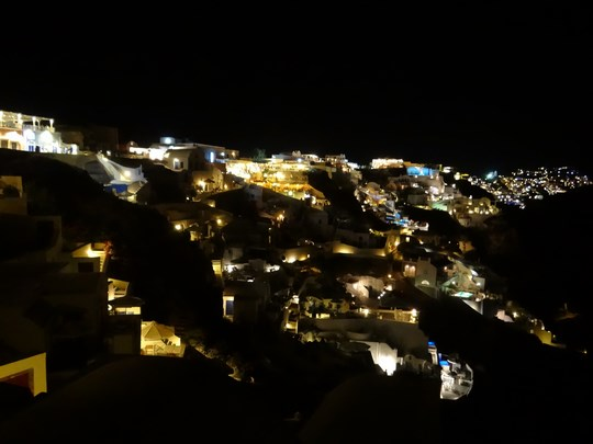 28. Oia by night