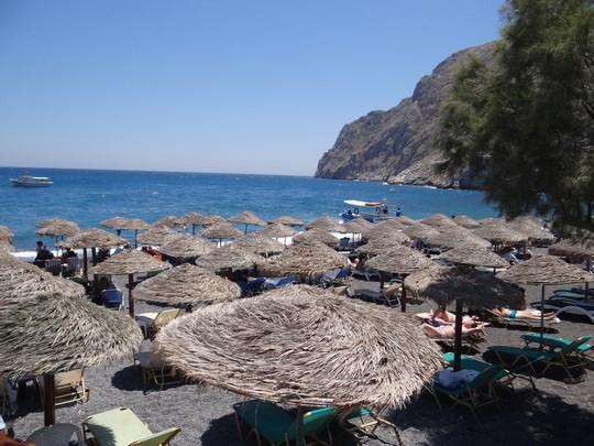 47. Plaja Kamari