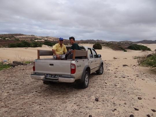 02. In pick up - Boavista, Capul Verde