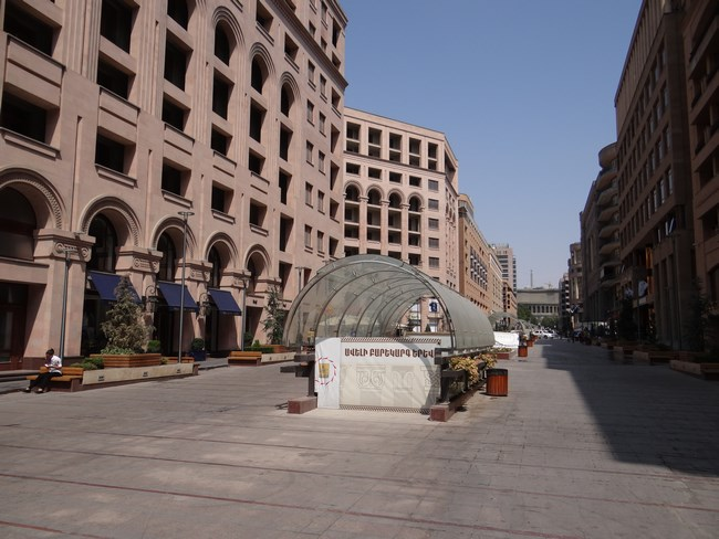 05. Strada pedestra - Erevan