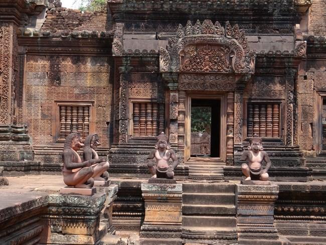 10. Banteai Srei, Cambogia