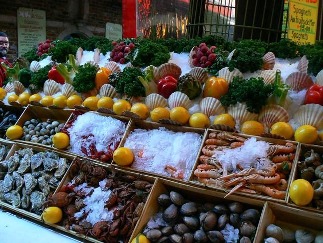 10. Fructe de mare - Bruxelles