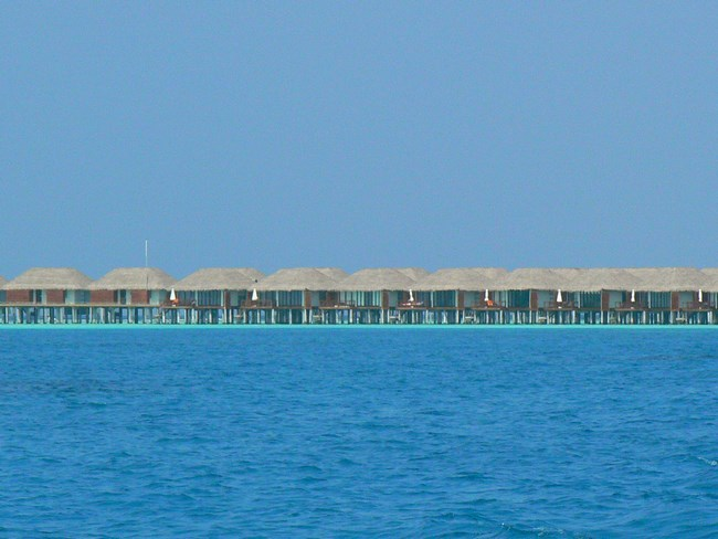 10. Watervillas