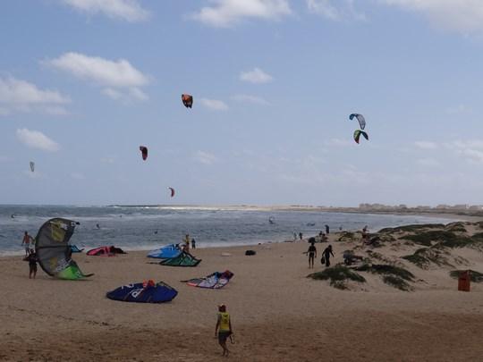 13. Kite surfing in Capul Verde