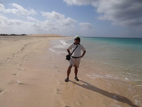 20. Plaja din Sal, Capul Verde
