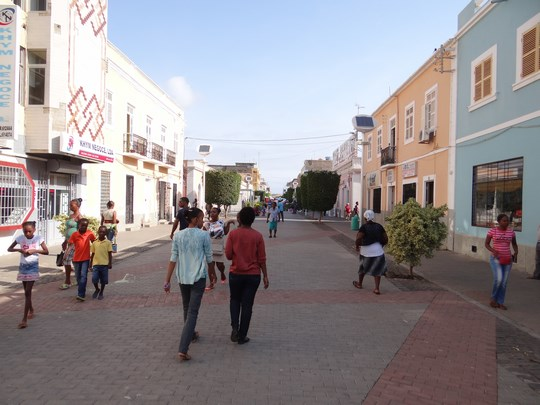 23. Praia - zona centrala