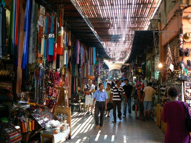 01. Bazarul din Marrakech