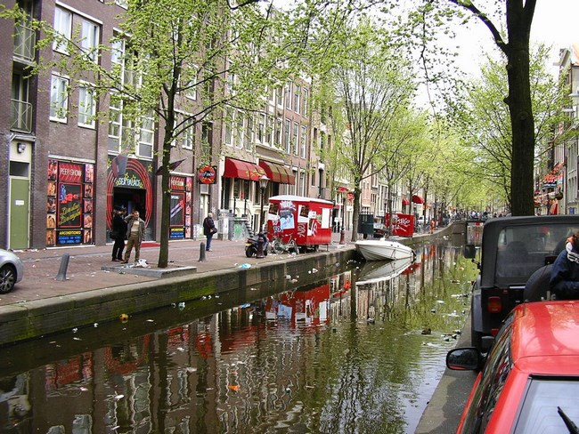 02. Canal in Amsterdam
