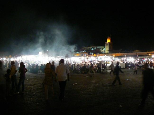 03. Noaptea in Jema el-Fnaa