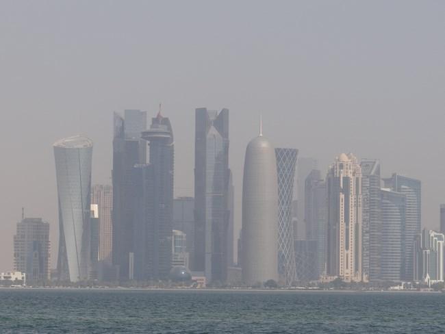 18. Doha skyline